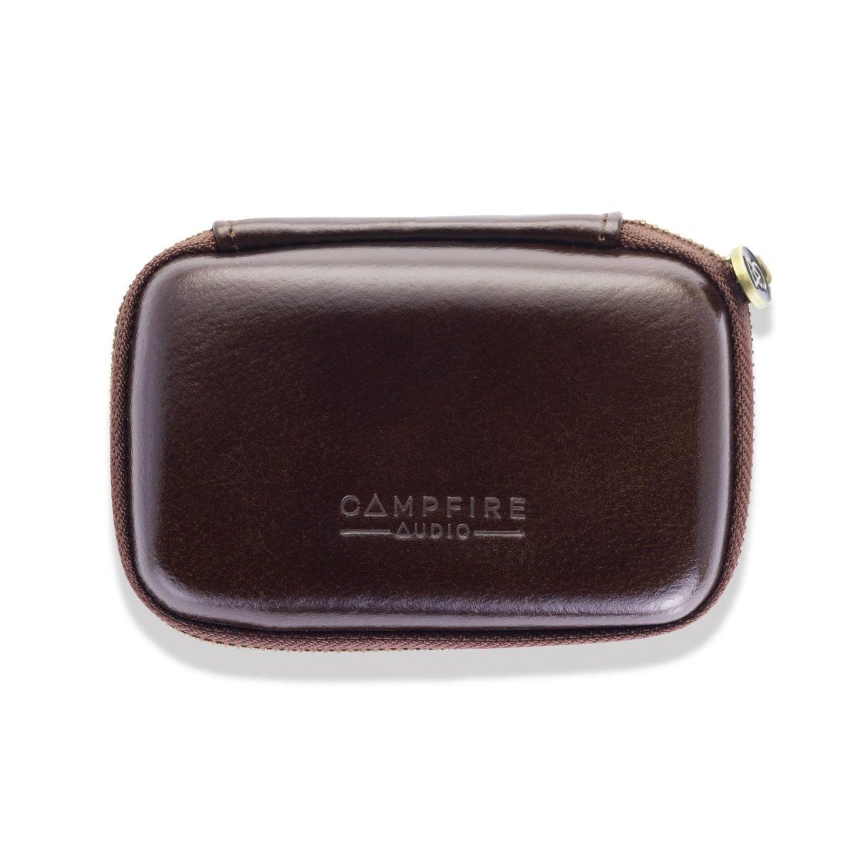 dark leather iem case