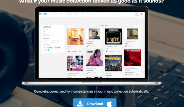 Bliss – Automatic Music Organizer