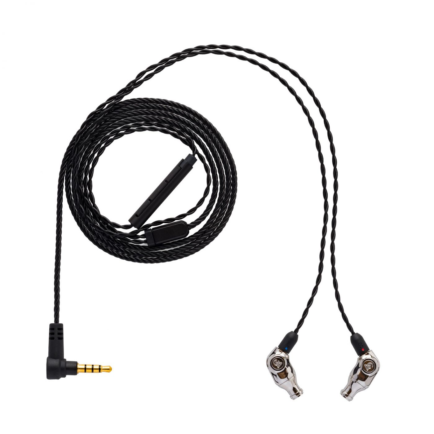 Comet-with-copper litz 3-button control cable + MIC