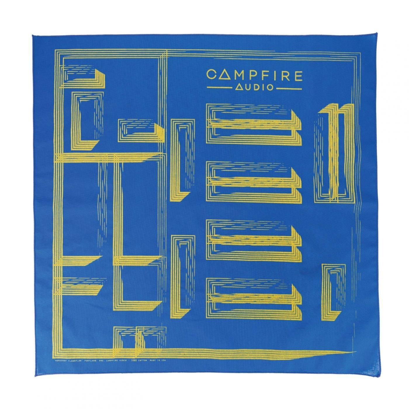 campfire audio workshop floorplan bandana blue
