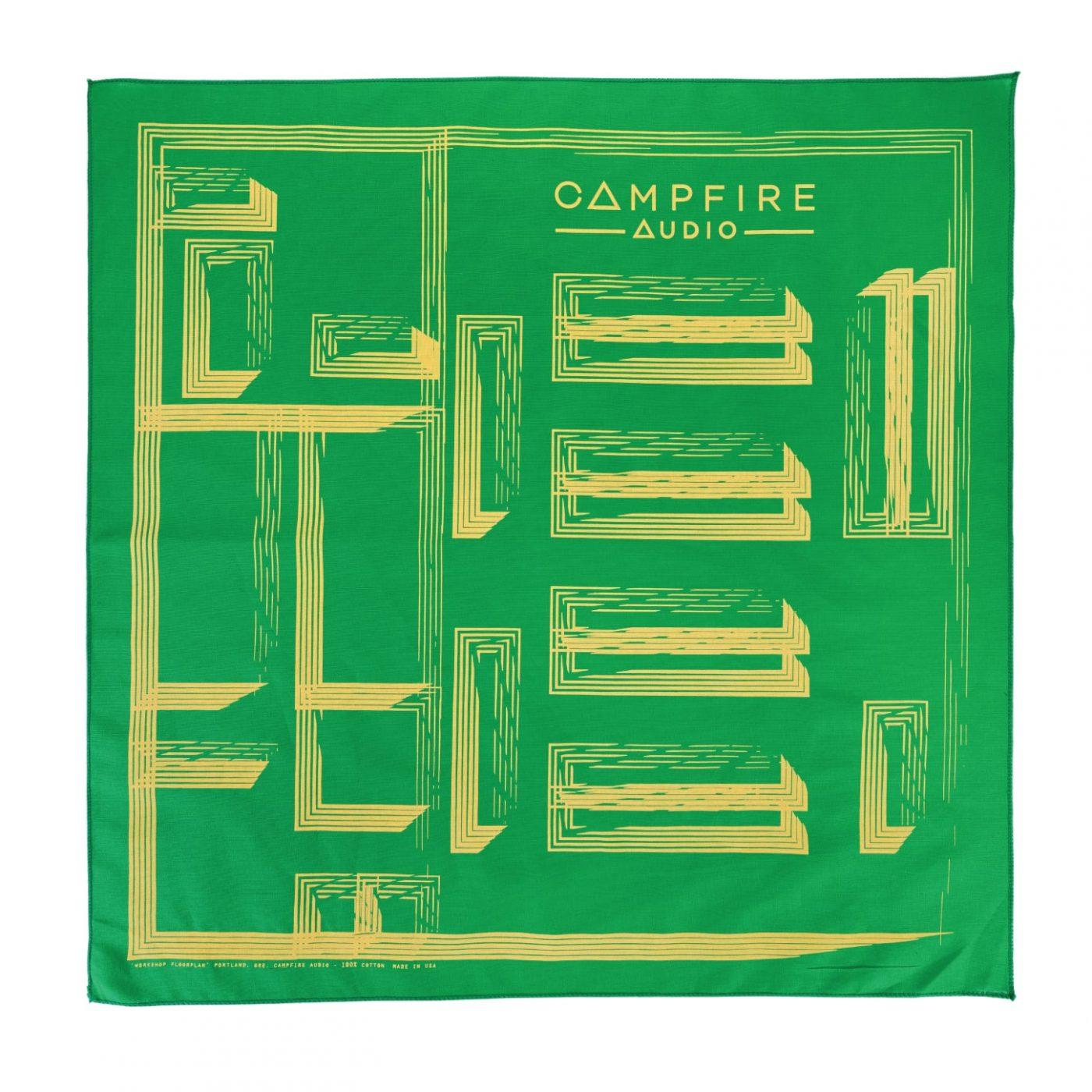 campfire audio workshop floorplan bandana green