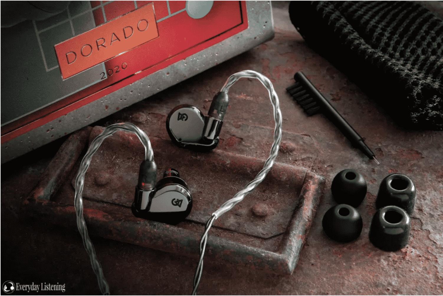 campfire audio dorado iem with accessories