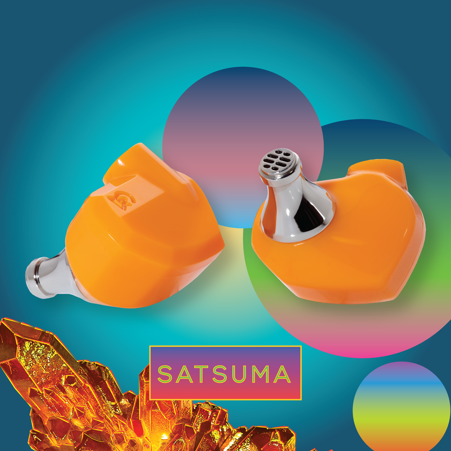 campfire audio satsuma iem over packaging imagery